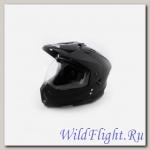 Шлем (мотард) Ataki FF802 Solid черный матовый