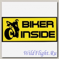 Наклейка Crazy Iron BIKER INSIDE Sport