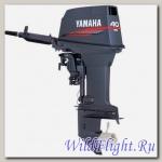 Двухтактный подвесной лодочный мотор Yamaha 40XMHS с предварительным смешиванием