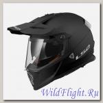 Шлем LS2 MX436 PIONEER single mono MATT BLACK
