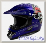 Шлем кроссовый Avantis Game12 BLUE