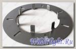 Пластина вкл.блокировки переднего редуктора, сталь LU019322