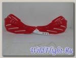 Защита рук (пара) HP15 красные армированные SM-PARTS