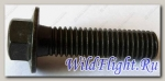 Болт с фланцем М8х1.25х30мм, сталь LU023022