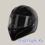 Шлем (интеграл) Origine STRADA Solid черный глянцевый