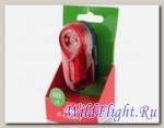 Фонарь велосипедный KAGAMI 0.5W RED LED, 2 функции - 406 MID