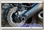 Слайдеры Crazy Iron в ось заднего колеса для Yamaha MT-09