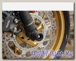 Слайдеры Crazy Iron в ось переднего колеса для Honda CB 650F/CBR 650F 2014