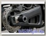 Слайдеры Crazy Iron в ось заднего колеса для Yamaha YZF-R1 от 2007 г./YZF-R6 от 2006 г.