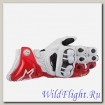 Перчатки Alpine Stars GP Pro Glove White Red