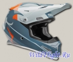 Шлем THOR YOUTH SECTOR SHEAR SLATE/SKY