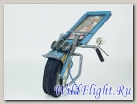 Рамка для фото в форме Мотоцикла (синего цвета)