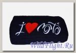 Полотенце Crazy Iron с логотипом I LOVE MOTO 70х140