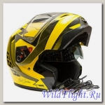 Шлем GSB G-339 SNOW YELLOW BLACK