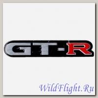 Наклейка (5х14) GTR гор. (метал)