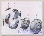 Сцепление центробежное в сборе+ колокол YAMAHA BWS 100