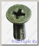 Винт с крест.шлиц. потайн.головкой M8x1.25x20мм,сталь LU035504