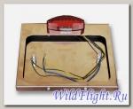 Рамка для крепления номерного знака Crazy Iron со стоп-сигналом Metal