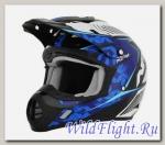 Шлем AFX FX-17 Factor comp bl/bl