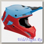 Шлем Thor SECTOR LEVEL S8 OFFROAD BLUE/RED MATTE