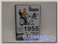 Знак винтажный VESPA тип 30