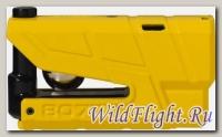 Замок мото. ABUS 8077 GRANIT Detecto X-Plus yellow