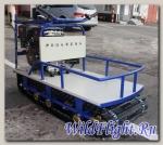 Мотобуксировщик Прогресс 500G L15SE LUX грузовой