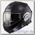 Шлем LS2 FF399 VALIANT SINGLE MONO Matt Black