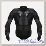 Защита тела мото HX-P14 типа A-STARS полная защита (рубаха со всеми протекторами) черная