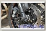 Слайдеры Crazy Iron в ось переднего колеса для Yamaha MT-09