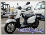 Скутер Yamaha BX 50 с корзиной