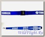 Шнурок мотоключей Yamaha Light синий белый