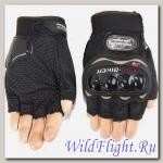 Перчатки без пальцев PRO-BIKER MCS-04 Black