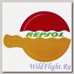 Наклейка эмблема Repsol (7х10)