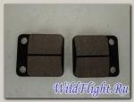 Колодки тормозные дисковые #3 DIO50/TTR125/KAYO CRF (задние)