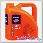 REPSOL RP Moto RIDER 4T SAE 15W-50 (4л) (REPSOL)