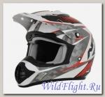 Шлем AFX FX-17 Factor Red