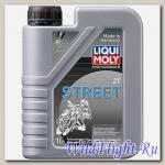 Моторное масло (полусинтетическое) для мотоциклов Motorbike 2T Street LIQUI MOLY (LIQUI MOLY)