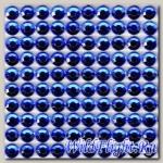 Наклейки набор (10х40) Стразы 4мм blue