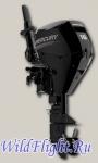Четырехтактный подвесной лодочный мотор Mercury F15 E RC EFI