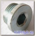 Болт-пробка маслозаливного отверстия переднего редуктора, сталь LU029692
