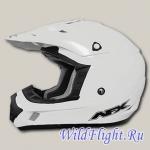 Шлем AFX FX-17 Solid WHITE