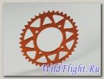 Звезда ведомая аллюминиевая питбайк 428-41Т оранжевая SM-PARTS