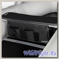 Накладка мягкая на сидение MARLIN (черная)+сумка рундук 300 (76 см)