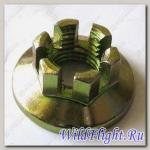 Гайка корончатая поворотного кулака, сталь LU033546