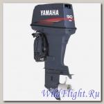 Двухтактный подвесной лодочный мотор Yamaha 90AETOL с отдельным впрыском масла