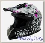 Шлем кроссовый Avantis Muc-off Matt Black