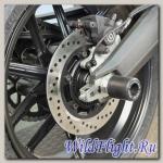 Слайдеры Crazy Iron в ось заднего колеса для Ducati Scrambler