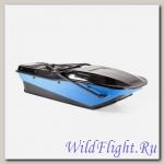 Сани волокуши Active + крышка (45 см) Цвет: черный,белый,серый,синий.