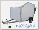 Прицеп-фургон легковой для перевозки мототехники (квадроцикла, 2-х мотоциклов одновременно) модель 3791М2